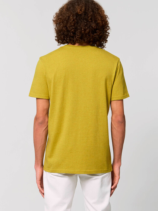 T-Shirts - Claas [diverse Farben] - S, heather neppy lemon grass 3