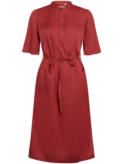 Knowledge Cotton Apparel  Kleider Orchid Tencel Dress [marsala] M jetzt im Onlineshop von zündstoff bestellen