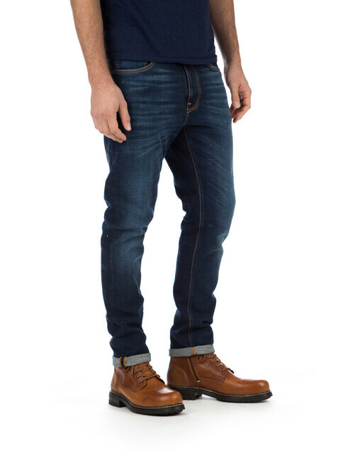 nudie Jeans Lean Dean [dark deep worn]