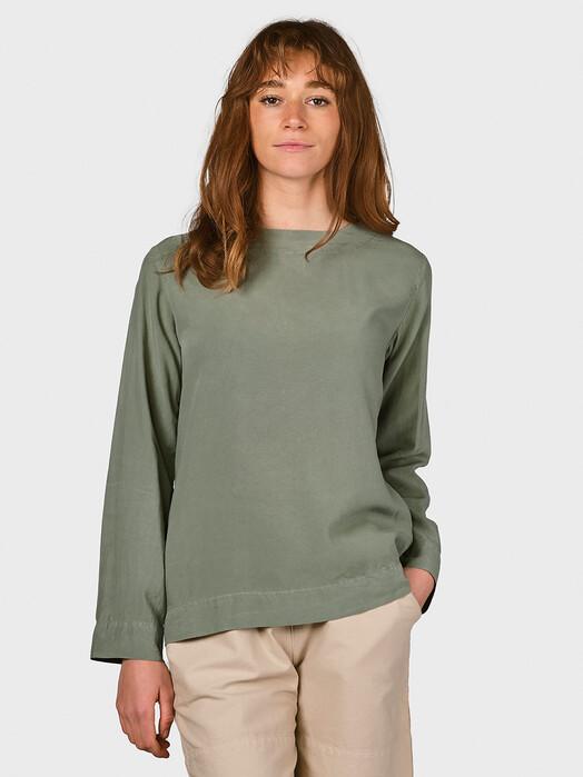 Klitmøller Collective Blusen Sandra [pale green] jetzt im Onlineshop von zündstoff bestellen