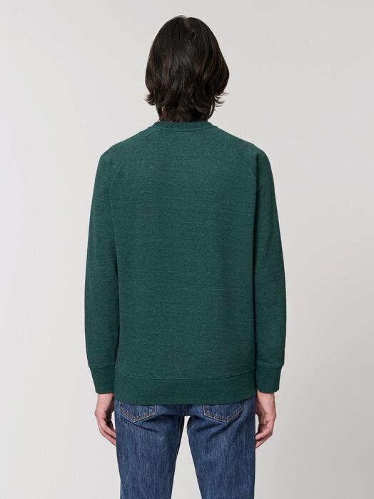 zündstoff.basics Sweatshirts Silas [diverse Farben] M, heather snow glazed green jetzt im Onlineshop von zündstoff bestellen