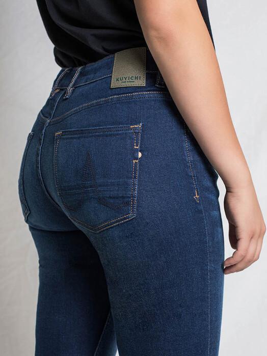 Kuyichi  Jeans Carey [dark blue] jetzt im Onlineshop von zündstoff bestellen
