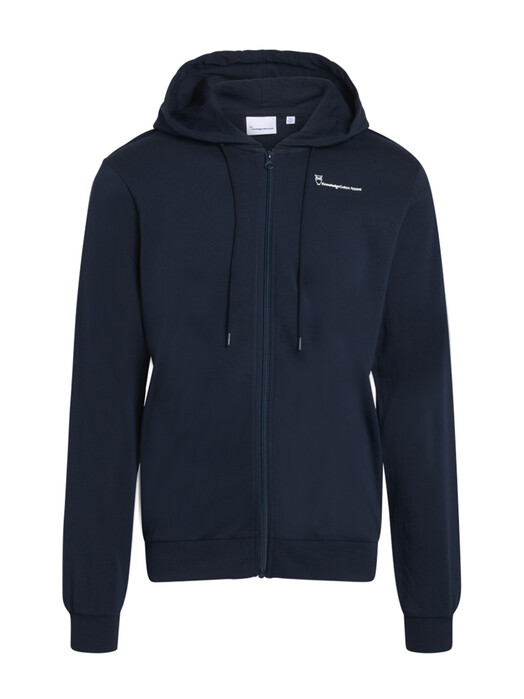 Knowledge Cotton Apparel  Hoodies Cedar Hoodie [total eclipse] jetzt im Onlineshop von zündstoff bestellen