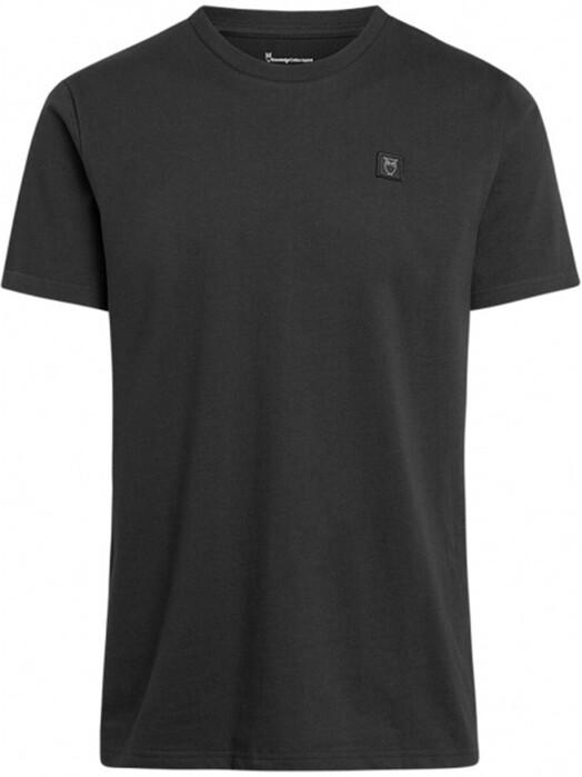 Knowledge Cotton Apparel  T-Shirts Alder Badge Tee [phantom] S jetzt im Onlineshop von zündstoff bestellen