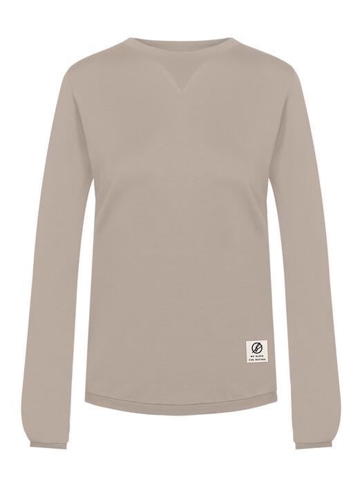 bleed clothing Sweatshirts Super Active Sweater Tencel [taupe] jetzt im Onlineshop von zündstoff bestellen