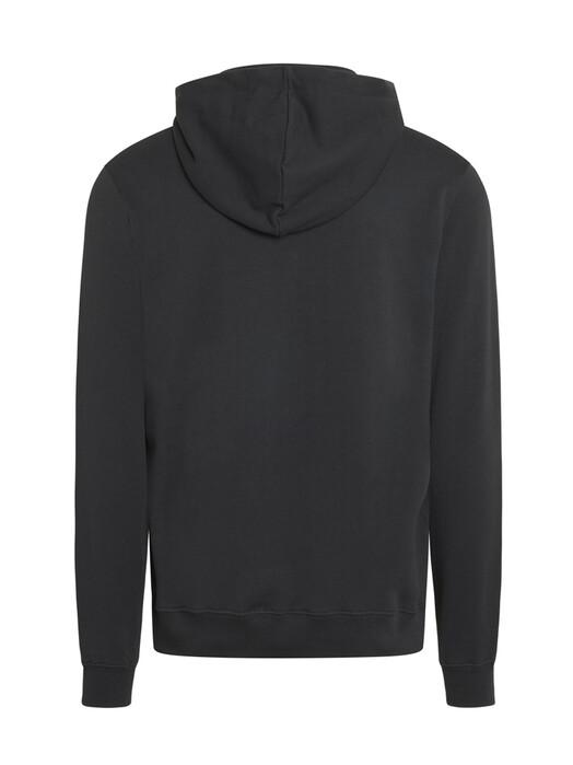 Knowledge Cotton Apparel  Hoodies Elm Badge Zip-Hoodie [phantom] jetzt im Onlineshop von zündstoff bestellen