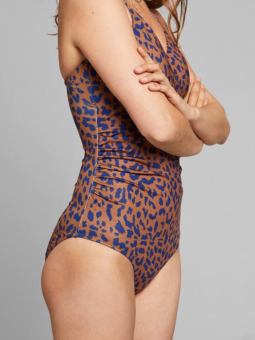 Dedicated Bikinis & Badeanzüge Klinte Leopard [light brown] XS jetzt im Onlineshop von zündstoff bestellen