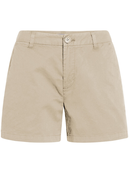 Knowledge Cotton Apparel  Shorts Willow Chino Shorts [light feather gray] jetzt im Onlineshop von zündstoff bestellen