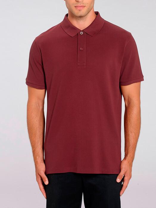Hemden & Polos - Darius [diverse Farben] - L, burgundy 2