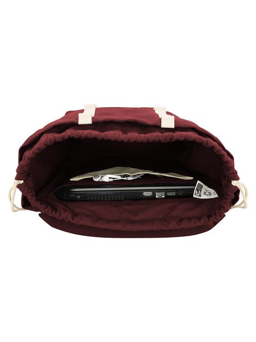 mela wear Rucksäcke & Taschen Mela V [burgunderrot]  One Size jetzt im Onlineshop von zündstoff bestellen