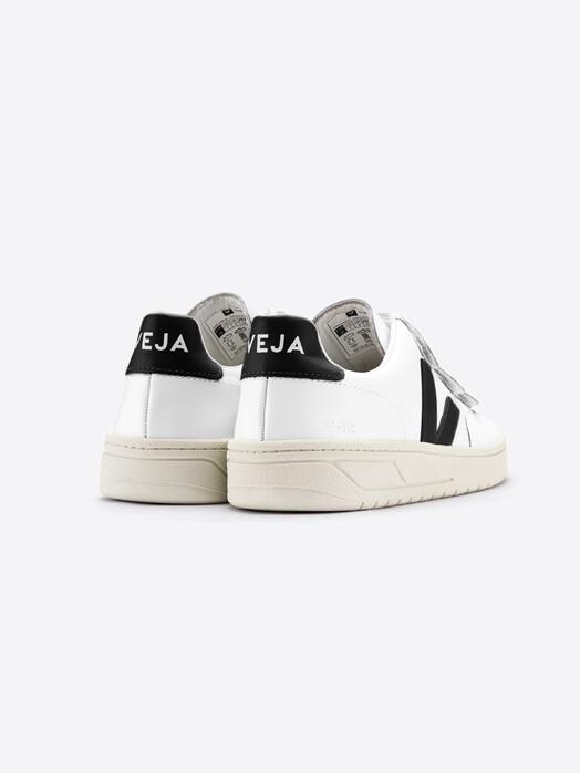 Veja Schuhe  V-Lock Leather [extra-white black] jetzt im Onlineshop von zündstoff bestellen