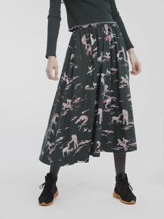 thinking-mu-space-rider-mae-long-skirt-scarab-green-01 450x600-ID26125-40b3cf4591d992118a463b9208a308e2