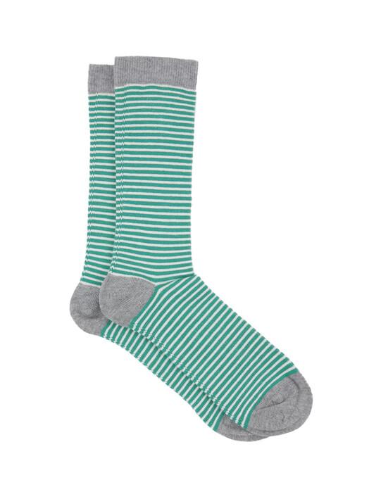 Albero Socken  Socken Unisex [grün/weiß/grau] jetzt im Onlineshop von zündstoff bestellen