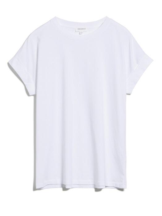 ARMEDANGELS T-Shirts Idaa Logo [white] jetzt im Onlineshop von zündstoff bestellen