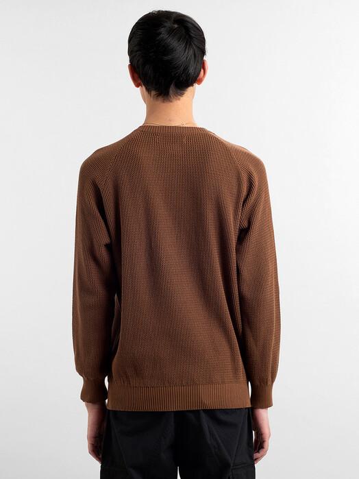 Dedicated Strickpullover Kalmar [brown] XL jetzt im Onlineshop von zündstoff bestellen