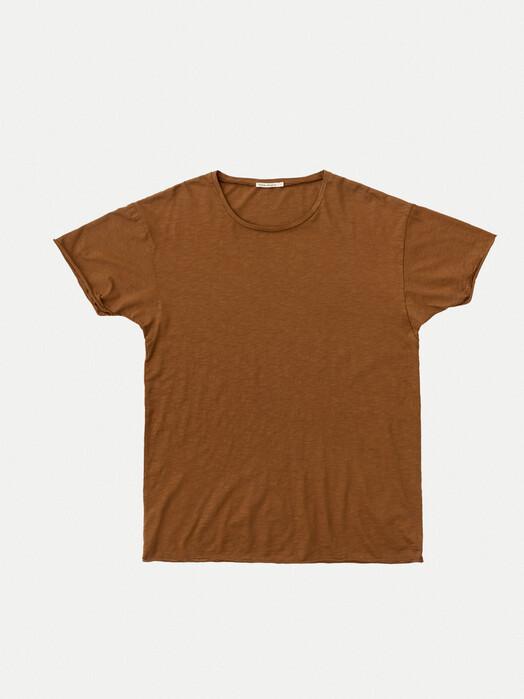 nudie Jeans T-Shirts Roger Slub [cinnamon] XL jetzt im Onlineshop von zündstoff bestellen