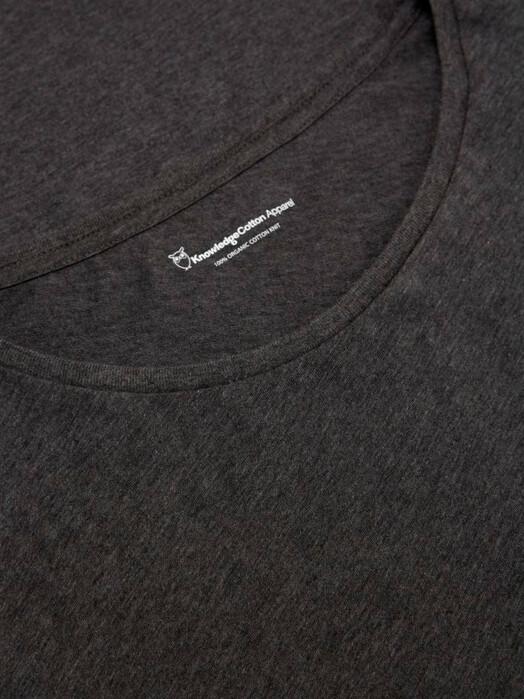 T-Shirts - Basic Fit O-Neck [dark grey] 3