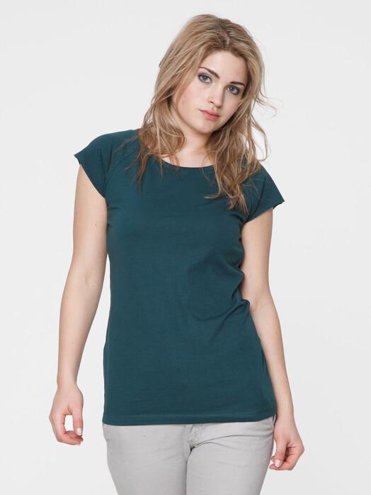 ThokkThokk  T-Shirts Women's Cap Sleeve T-Shirt [deep teal] L jetzt im Onlineshop von zündstoff bestellen