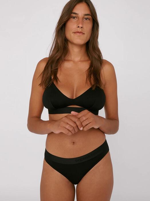 Organic Basics Unterwäsche  Tencel Lite Slips 2-Pack [black] jetzt im Onlineshop von zündstoff bestellen