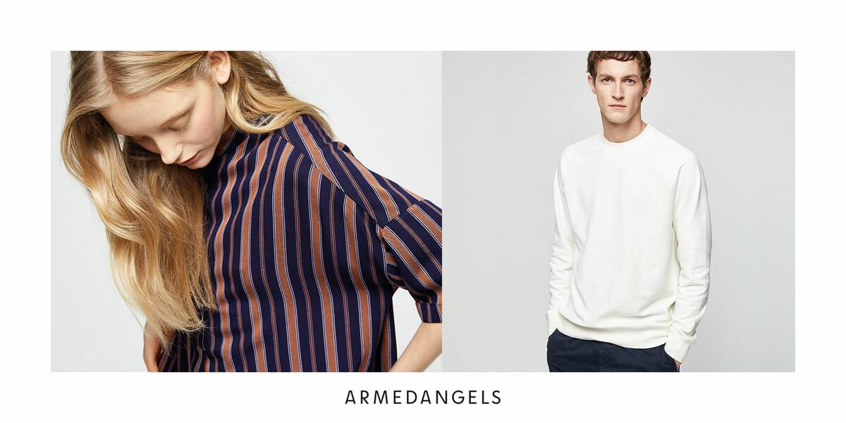 ARMEDANGELS: Öko-faire Kleidung für Damen und Herren