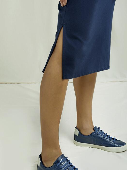 People Tree  Röcke Keira Pencil Skirt [navy] jetzt im Onlineshop von zündstoff bestellen