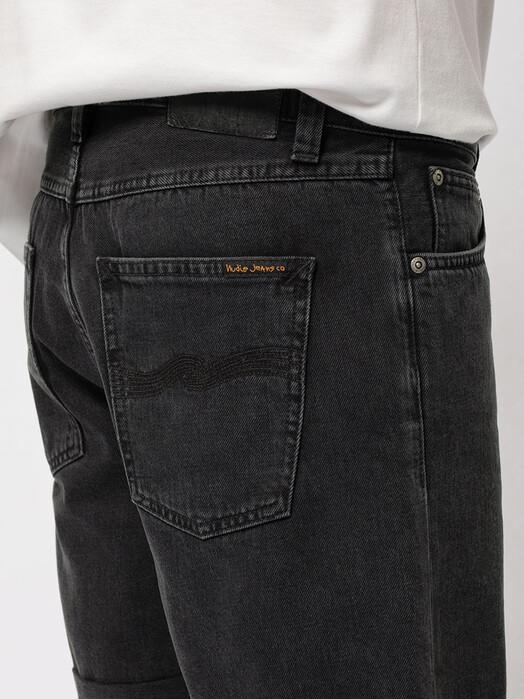 nudie Jeans Shorts Josh Denim Shorts [black water] jetzt im Onlineshop von zündstoff bestellen