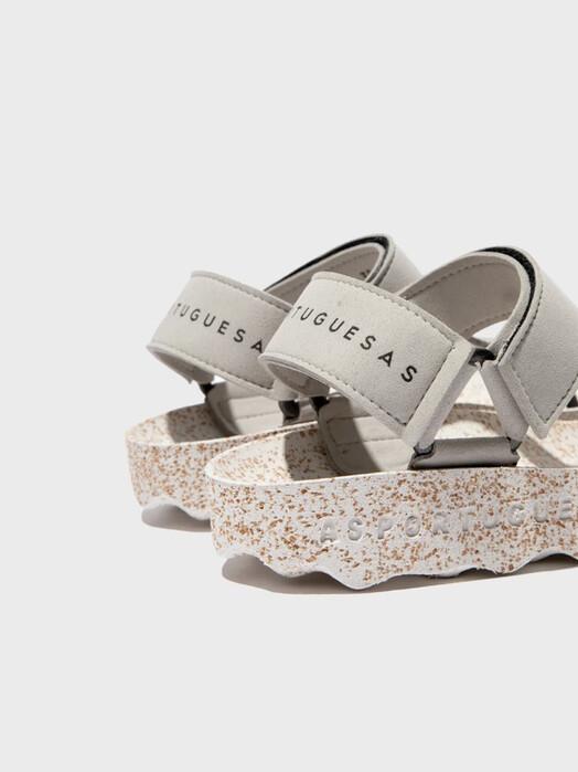 Asportuguesas Sandals Fizz [grey/white]