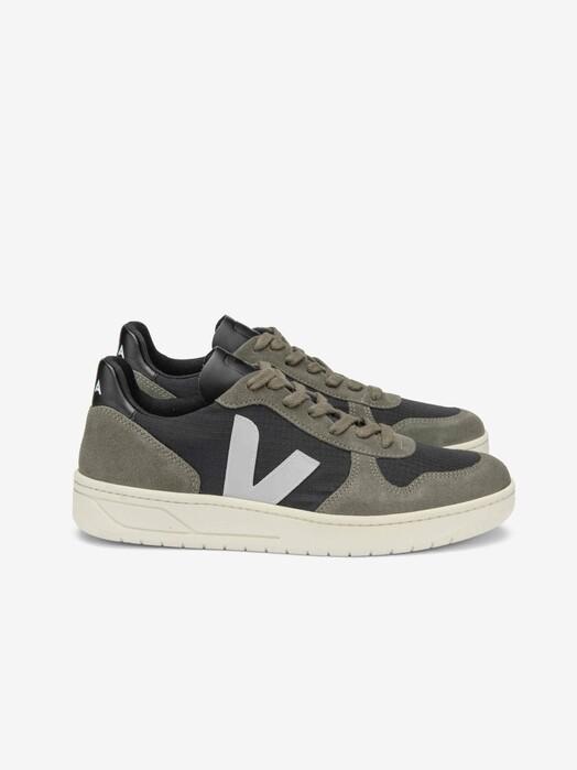 Veja Schuhe V-10 Ripstop [black oxford-grey mud] jetzt im Onlineshop von zündstoff bestellen