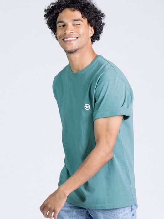 Kuyichi  T-Shirts Liam Hemp Tee [emerald] jetzt im Onlineshop von zündstoff bestellen