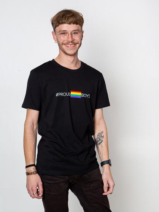 Kombinat 161 T-Shirts T-Shirt #proudboys [black] jetzt im Onlineshop von zündstoff bestellen