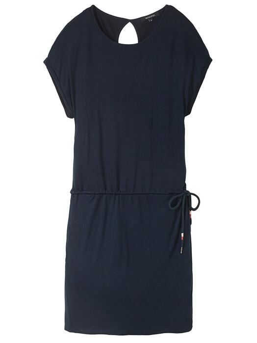 recolution  Kleider Ecovero Shirtdress [navy] S jetzt im Onlineshop von zündstoff bestellen