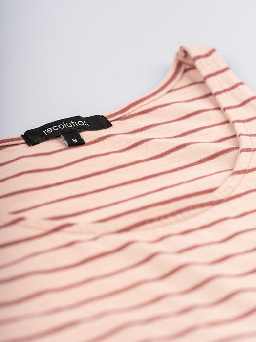 recolution  Tops Casual Top Stripes [light rose/dark rose] jetzt im Onlineshop von zündstoff bestellen