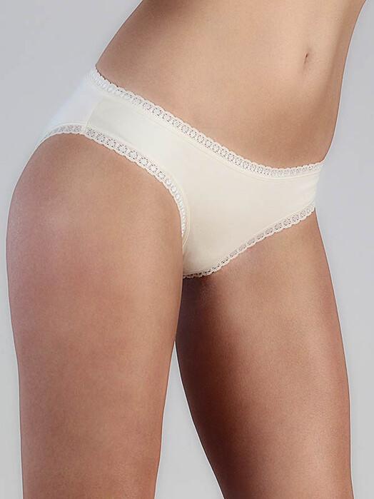 Albero Unterwäsche  Damenslip mit Spitze [natur weiß] L jetzt im Onlineshop von zündstoff bestellen