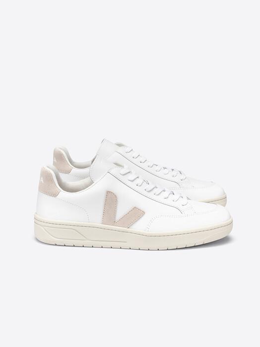 Veja Schuhe V-12 Leather [extra-white sable] jetzt im Onlineshop von zündstoff bestellen