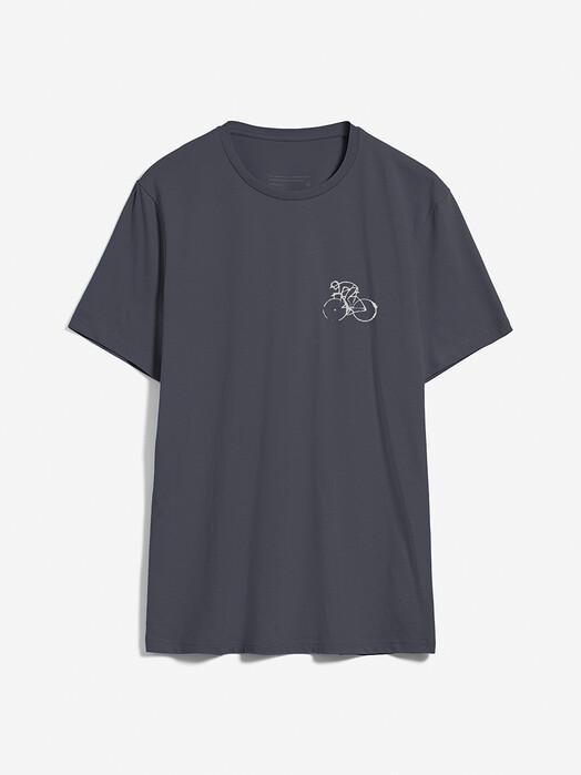 ARMEDANGELS T-Shirts Jaames Bike Season [acid black] jetzt im Onlineshop von zündstoff bestellen
