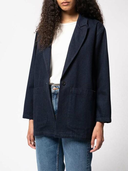 nudie Jeans Jacken & Mäntel  Lovi Blazer [denim] jetzt im Onlineshop von zündstoff bestellen