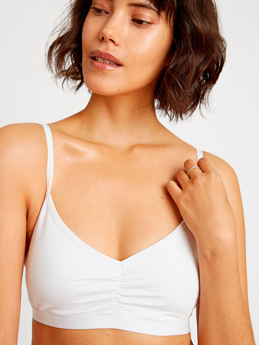 Unterwäsche  - Soft Bra Top [eco white] - M 1