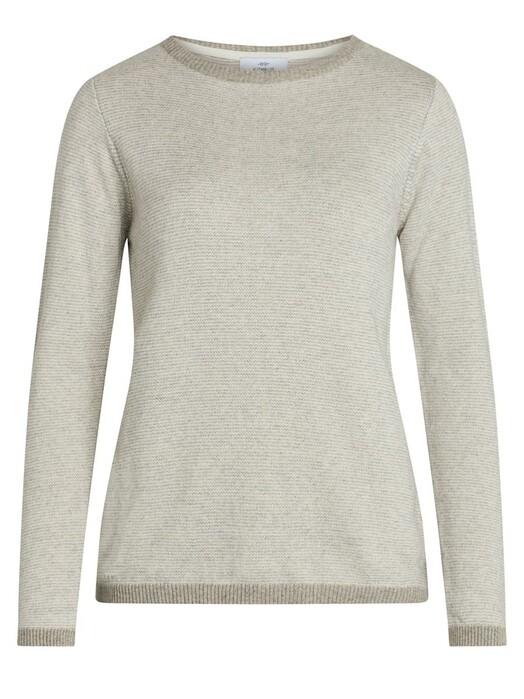 Klitmøller Collective Strickpullover & Cardigans Rosa [pastel grey/cream] S jetzt im Onlineshop von zündstoff bestellen