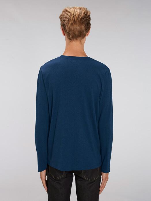 zündstoff.basics Longsleeves Samson [diverse Farben] L, black heather blue jetzt im Onlineshop von zündstoff bestellen