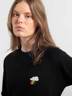 Dedicated-Fairtrade-Sweatshirt-Ystad-Rainbow-Cloud-Black-02