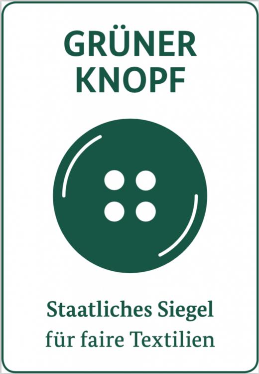 Siegel grüner knop