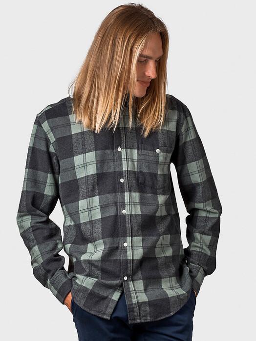 Klitmøller Collective Hemden & Polos Nikolaj [olive/black] jetzt im Onlineshop von zündstoff bestellen