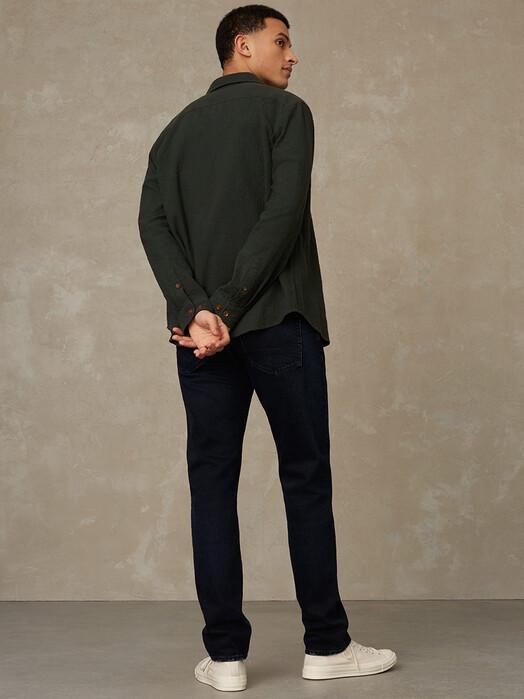 K.O.I. Jeans Hemden & Polos Enda Pocket [seersucker deep forest] jetzt im Onlineshop von zündstoff bestellen