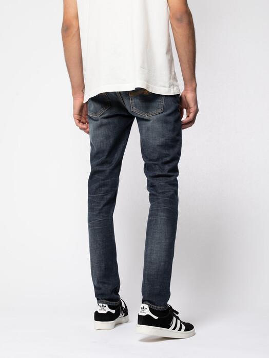 nudie Jeans Jeans Skinny Lin [aged indigo] jetzt im Onlineshop von zündstoff bestellen