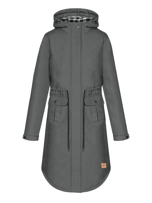 bleed clothing Jacken & Mäntel  Guerilla Thermal Parka Damen [grey] XS jetzt im Onlineshop von zündstoff bestellen