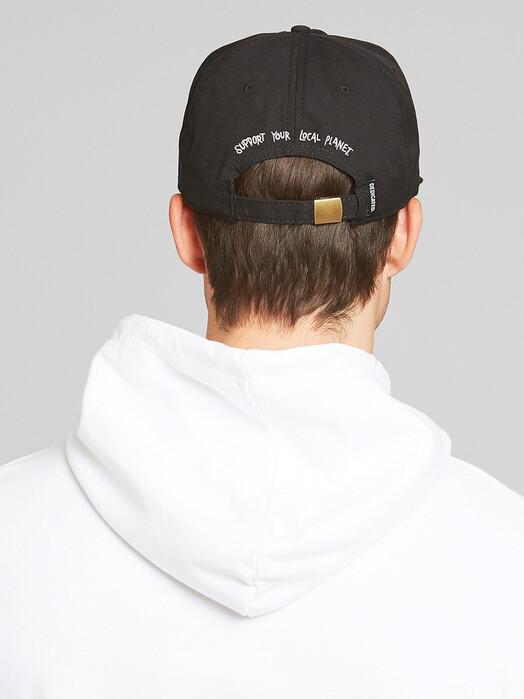 Dedicated Mützen Unconstructed Cap Globe [black] One Size jetzt im Onlineshop von zündstoff bestellen
