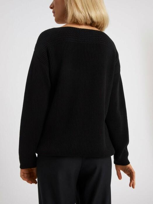 ARMEDANGELS Strickpullover & Cardigans Raachela Solid [black] jetzt im Onlineshop von zündstoff bestellen