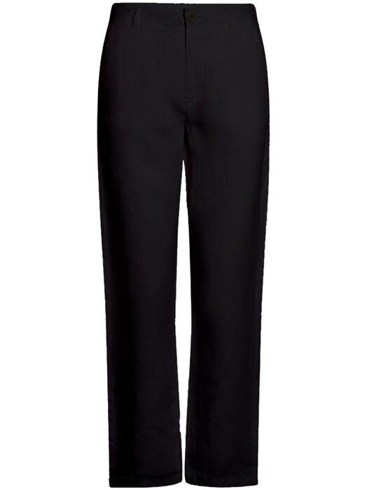 Knowledge Cotton Apparel  Hosen Senna Loose Pants [black jet] jetzt im Onlineshop von zündstoff bestellen