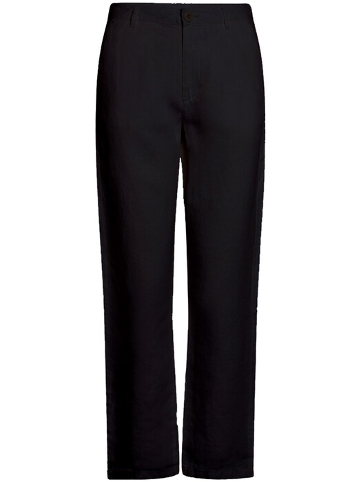 Knowledge Cotton Apparel  Hosen Senna Loose Pants [black jet] M jetzt im Onlineshop von zündstoff bestellen