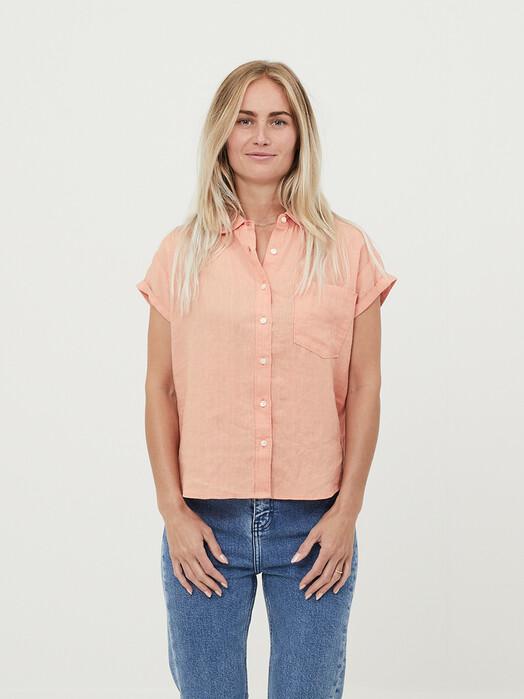 Knowledge Cotton Apparel  Blusen Aster [shimp] jetzt im Onlineshop von zündstoff bestellen